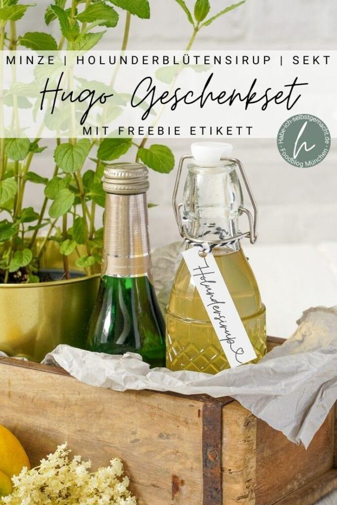 Holundersirup Hugo Geschenkidee