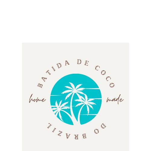 Batida de coco Etiketten
