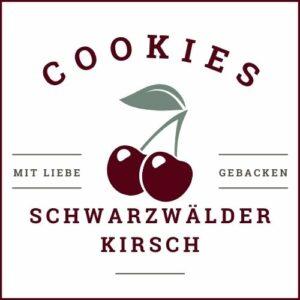 Schwarzwälder Kirsch Cookies Etiketten