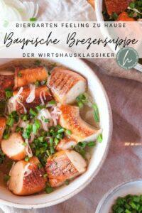 Bayerische Brezensuppe