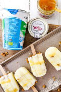 Griechischer Joghurt Honig Eis