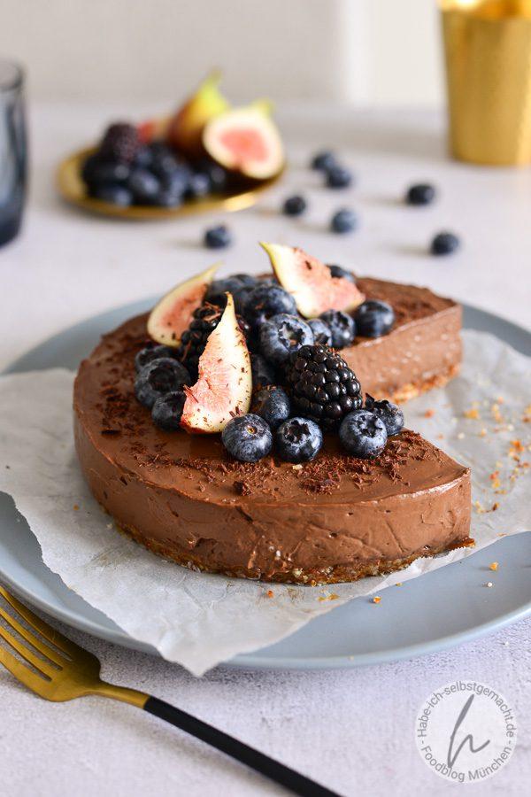 No Bake Schoko Cheesecake
