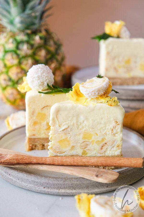 Raffaello Eiscreme Torte