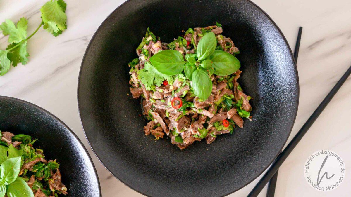 Thai Rindfleischsalat