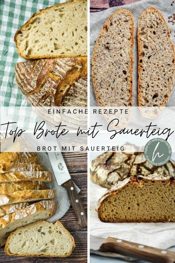 Die besten Brotrezepte mit Sauerteig