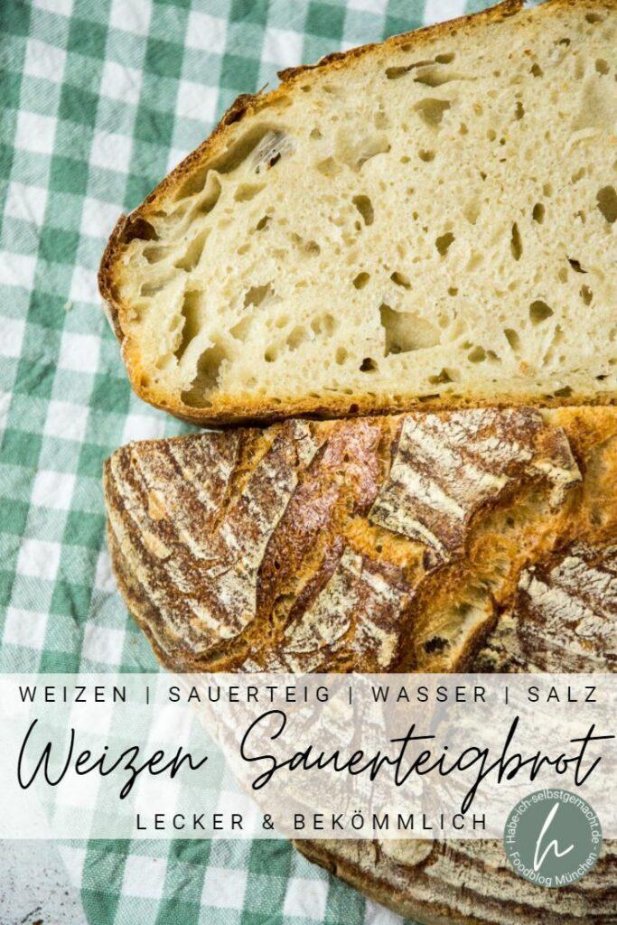 Weizen Sauerteigbrot Rezept