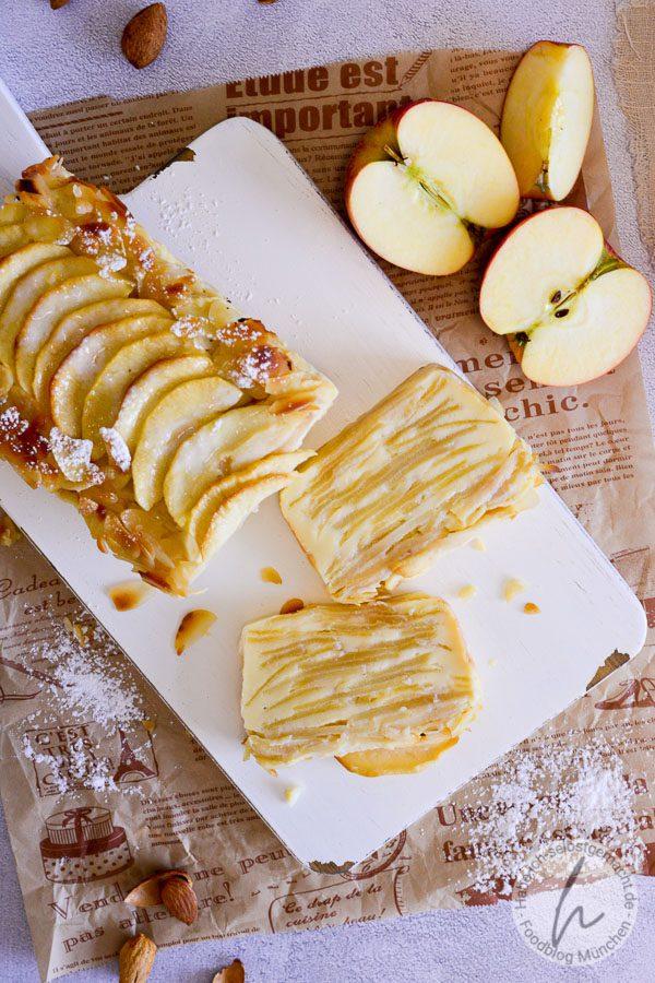 Apfelkuchen ohne Boden