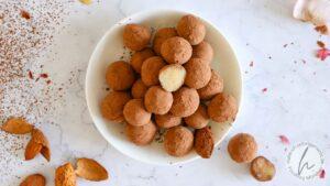 Marzipankartoffeln ohne Zucker