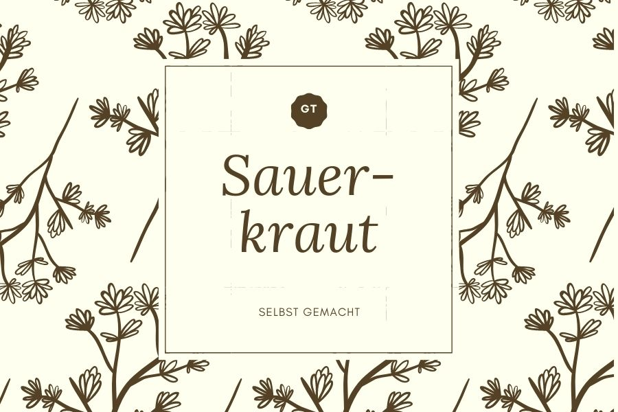 Sauerkraut Etikett