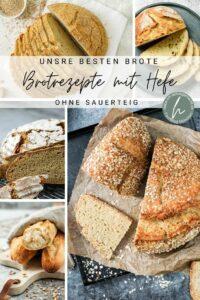 Top 5 Brote mit Hefe