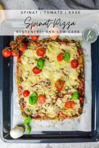 Spinat Pizza