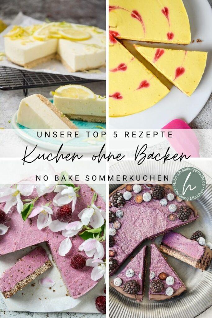 Top-5-Kuchen ohne Backen