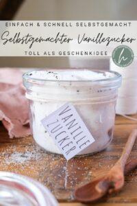 Selbstgemachter Vanillezucker