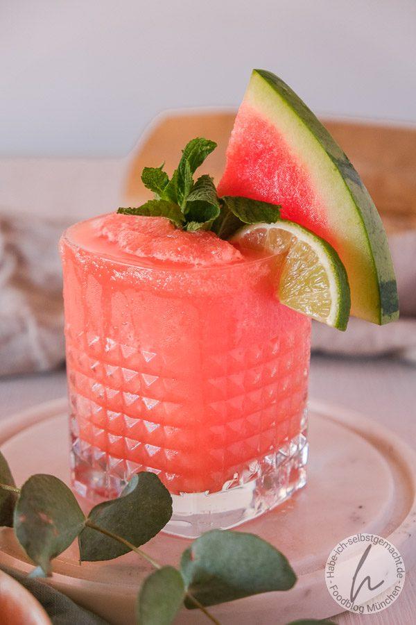 Wassermelonen Slushy