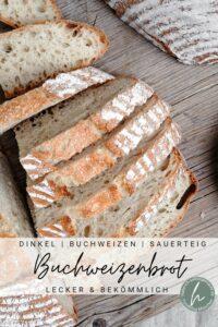 Dinkel Buchweizen Kruste (Buchweizenbrot)