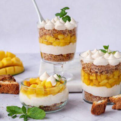 Mango Dessert im Glas