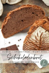 Schokoladenbrot Pinterest Flyer