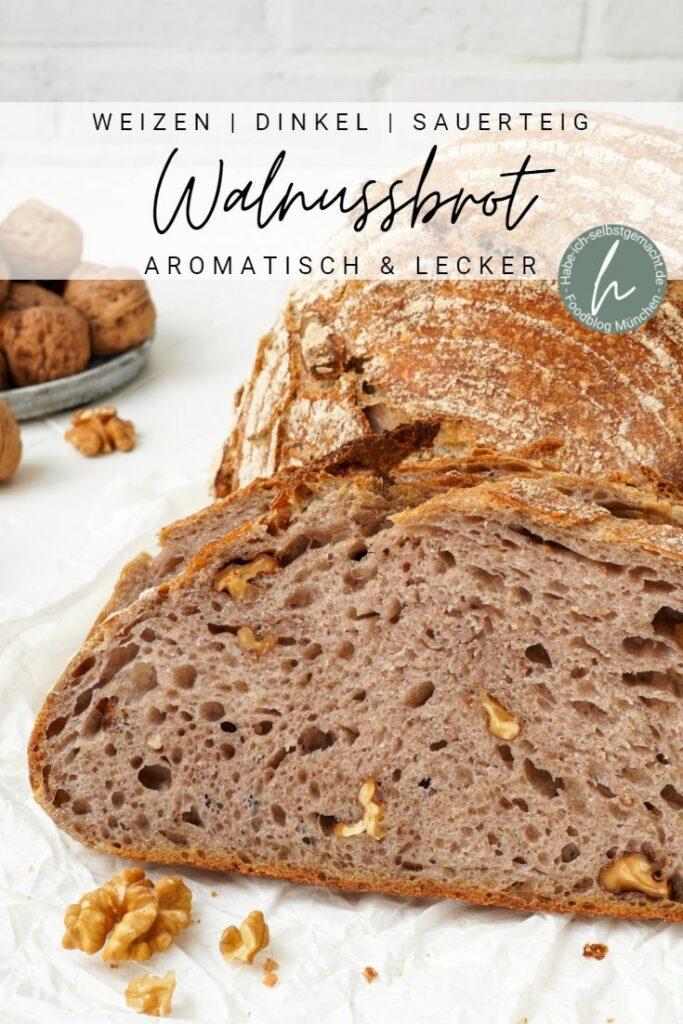 Walnuss-Sauerteigbrot